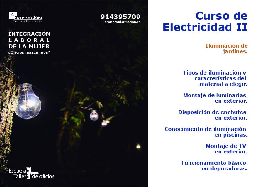 bricomujer electricidad