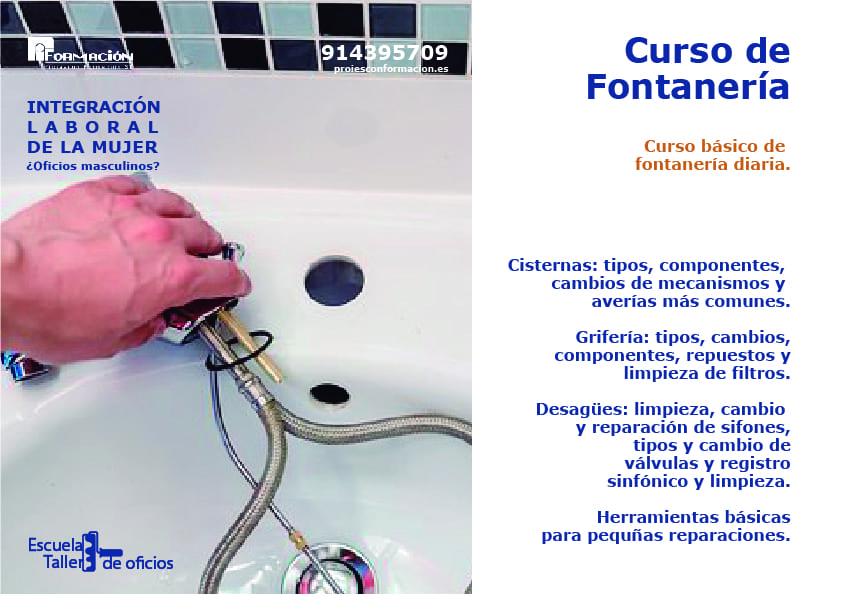 bricomujer fontaneria