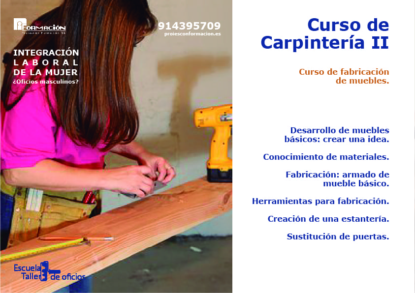 bricomujer carpinteria